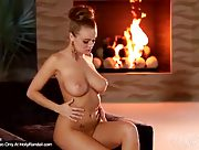 Smoldering desire burn within Leanna Decker