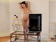 I love to be naked in my home