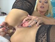 Alysha toys both of her holes