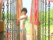 Itsuki Sagara gets naughty and playful at the playground