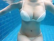 Underwater delight with busty Rui Kiriyama