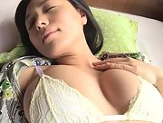 Adorable busty Yukie Kawamura loves to show off her big boobs