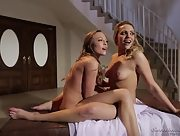 Mia Malkova and Aubrey Star spread their legs and get ready for pleasure