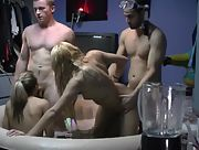 After relaxing in the jacuzzi they want to be pounded hard