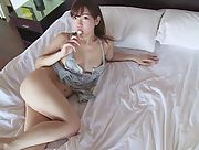 Adorable and playful Allgravure Model Yuriko Ishihara sensually poses in Request Scene 3