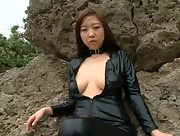 Beautiful Babe Ami Asai nude in Ami Is A Love Thief Scene 3