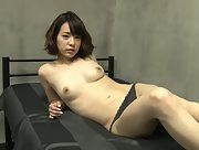 Alluring damsel Sena Nagakura erotically poses in Erotic Pretty Girl Scene 3