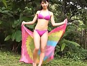 Beautiful allgravure beauty Rina Nagai enchanting in Whole Cinderella Momoiro Scene 1