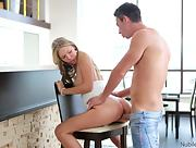 Fantastic nubile beauty Ebbi bares her gorgeous body in Flirt S3