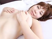 Adorable and playful babe Mai Fujiko dazzles us with her sexy body