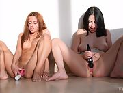 Tempting girls Vanna and Jayde dazzle us with their sexy bodies in Fisting Can Be Fun