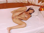 All natural nubile girl Cleo Mijares gets nude and nasty in For You