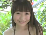 Flirty model Mei Kanno stuns everyone with her seductive body in Nyan Chan Trying Scene 1