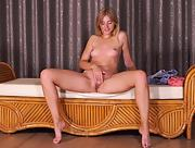 Adorable and playful babe Aria Logan shows off her gorgeous body in Heartthrob