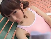 Amazing charmer Misaki Momose gets nude and nasty in Unrequited Love Of Peach Scene 2