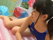 Graceful stunner Koharu Nishino nude in Peach Color Punch Part 2 Scene 1