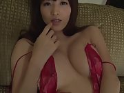 Sweet and charming vixen Mai Hakase nude in Breath Of The Flower Scene 3