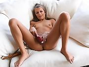 Fantastic hottie Carmen bares her gorgeous body in The Pleasure Of Multiple Orgasms