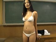 Adventurous and daring vixen Takashima Kaori enchanting in Beautiful Girl Scene 3