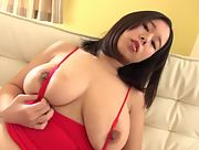 Blossoming young girl Shiori Tsukada bares her gorgeous body in Colossal Tits Scene 1