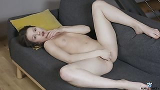 Romantic and effortlessly beautiful nubile girl Matty seductive in Me Time