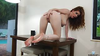 Adventurous and daring charmer Nala Brooks exposed in Busty Babe