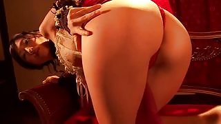 Amazing all gravure beauty Mitsu Dan shows off her stunning body great ass and nice pussy in Mistu